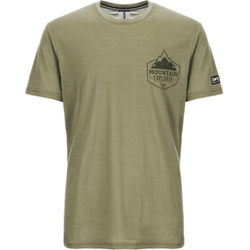 super.natural Graphic T-Shirt Men bamboo/killer khaki expl print